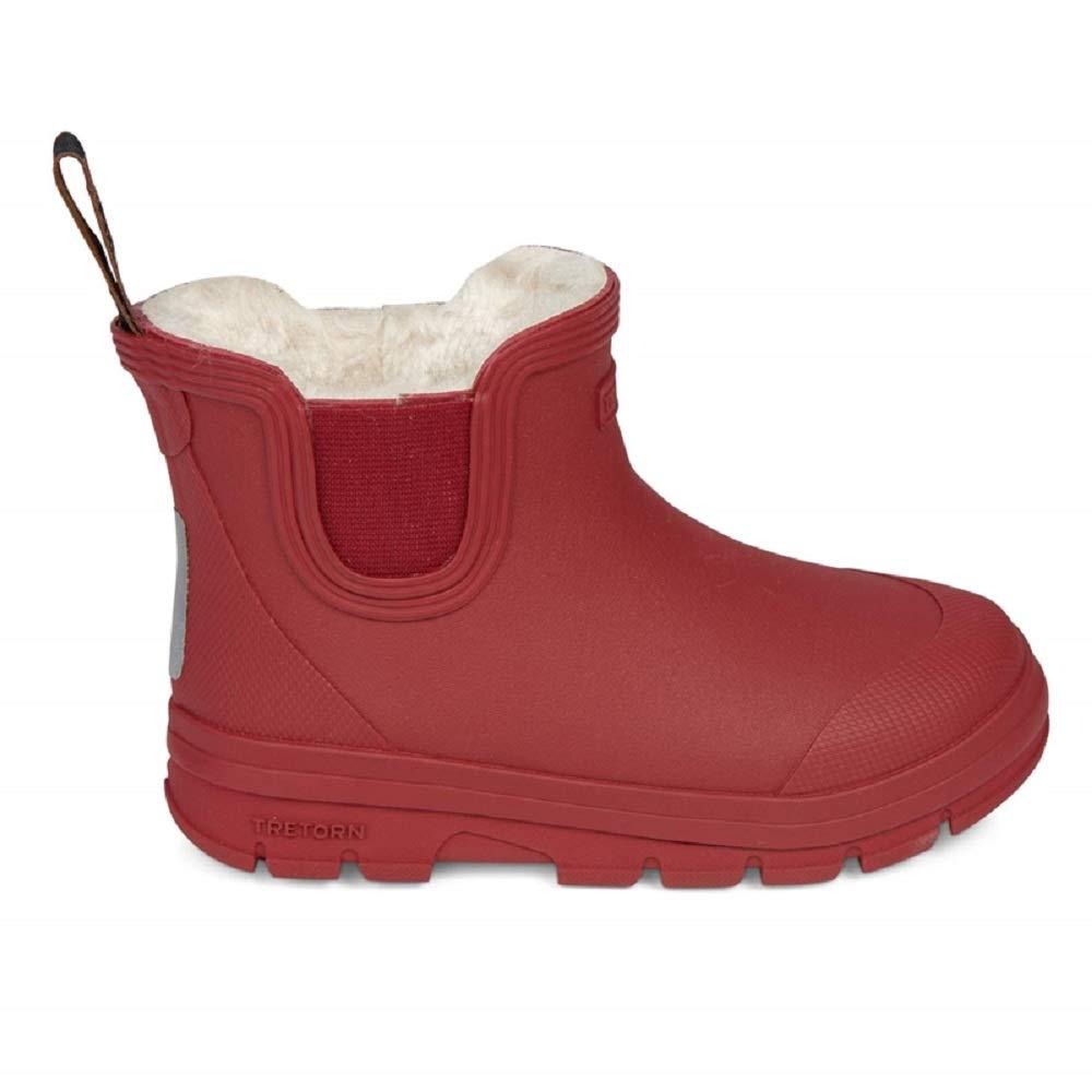 b8a50ae5510cbe Tretorn AKTIV Chelsea Winter Kurzschaft Gummistiefel Wasserdicht  Natürliches Gummi Kinder  Amazon.de  Schuhe   Handtaschen