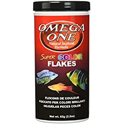 Omega One Super Color Flakes, 2.2 oz.