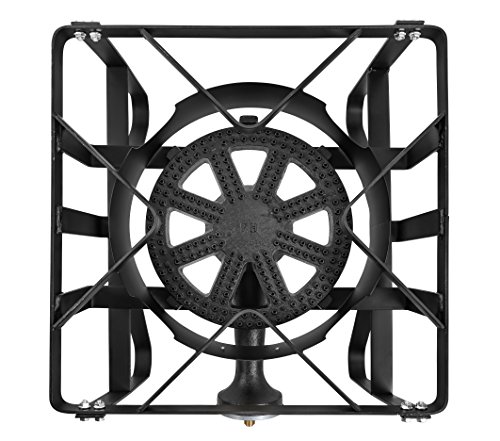 Concord Deluxe 16'' Banjo Single Square Burner Stove Brewing 200,000 BTU Equipment Supply. Great for home brewing by Concord Cookware (Image #2)