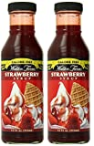 Walden Farms Strawberry Syrup 12oz (Pack of 2)