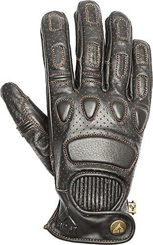 guantes de piel cafe racer vintage