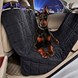 #9: Dog Car Seat Covers Waterproof Soft Padded Pet Hammock Seat Covers for Dogs by VIEWPETS(HAMMOCK, Micro Fiber 60