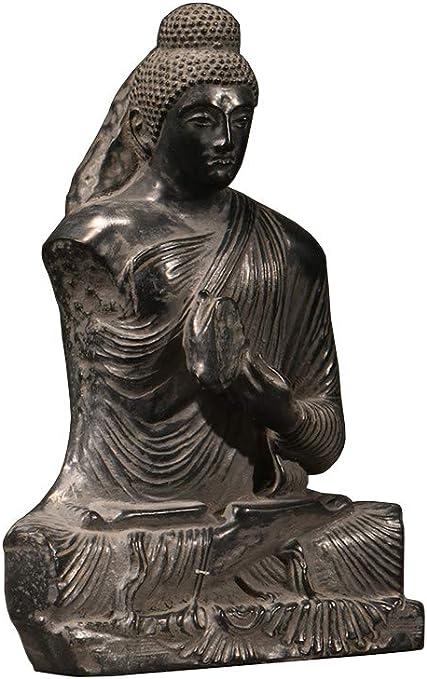 Amazon Com Sdbrkyh Gandhara Buddha Statue Buddha Sculpture Statue Greco Buddhist Art Cultural Relics Home Kitchen