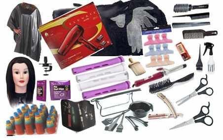 amazon com cosmetology school student kit tote bag manikin head