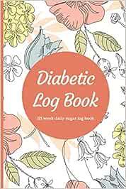 Diabetes Food Journal: 53 Week Daily Log for Tracking
