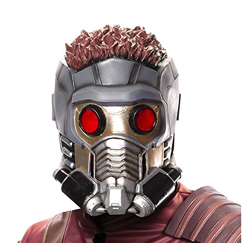 Starlord Kids Costumes Mask (Rubie's Costume Guardians of the Galaxy Vol. 2 Child's Star-Lord 3/4 Mask)
