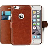 "Lockwood iPhone SE/5s Folio Wallet Case | Vintage Brown | Travel Wallet With Card Holder | Ultra Slim & Lightweight Design | Classic Cases for Modern Devices | (4.0"" Screen) 
