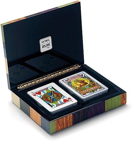 Cayro - Estuche de baraja de Cartas Española y Poker - Juego Tradicional - Juego de Mesa - Desarrollo de Habilidades cognitivas y lógico matemáticas - Juego de Mesa (2620): Amazon.es: Juguetes y juegos