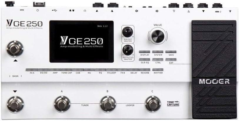 Mooer GE250 Pedal Multi Efectos de Guitarra