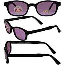 Original KD's Biker Sunglasses with Purple Lenses