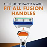 Gillette Fusion Manual Men's Razor Blade Refills, 4 Count, Mens Razors / Blades