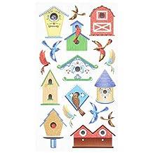 Ek Success Sticko Birds and Bird Houses Stickers