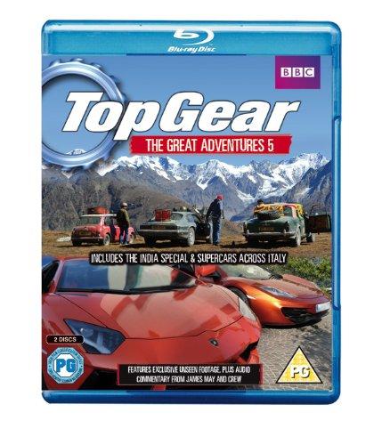 Top Gear Great Adventures 5 [Blu-ray]