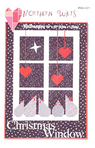 Northern Quilts NQ421 Christmas Window Wall Hanging Pattern