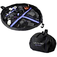 Lay-n-Go Wired Accents, Black/Blue