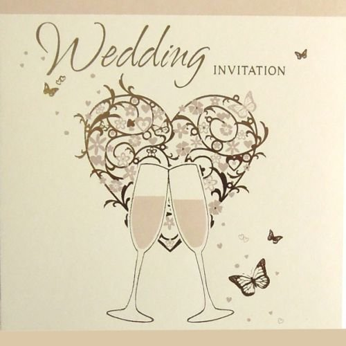 36 Wedding Invitations - Cards and envelopes - DP275 Simon Elvin