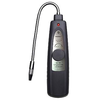 wk102 rfrigerant halógena freón Detector de fugas de gas analizador CFC HFC R134 a R410 a, frigorífico/coche/localizador de fugas de aire acondicionado ...