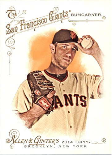2014 Topps Allen and Ginter 96 Madison Bumgarner M (Mint)