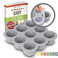 KIDDO FEEDO Food Storage Containers - Multipurpose Freezer Tray to Freeze Bab...