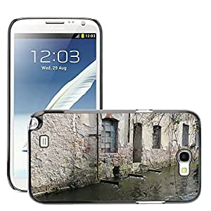 Print Motif Coque de protection Case Cover // M00158307 Fondo de la pared de piedra de la pared // Samsung Galaxy Note 2 II N7100