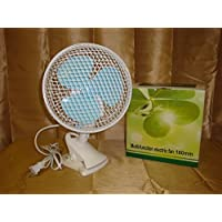 USA Premium Store 9 PORTABLE 2 SPEED OSCILLATING MULTI-USE FAN STAND UP, WALL MOUNT, OR CLIP ON