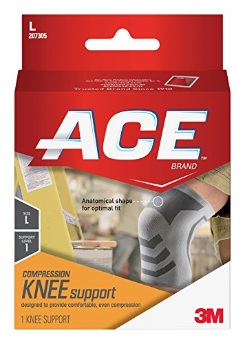 (ACE Knitted Knee Support, Large (Pack of 2))