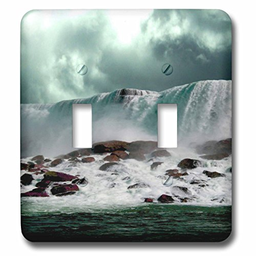 3dRose TDSwhite – Miscellaneous Photography - Travel Niagara Falls New York - Light Switch Covers - double toggle switch (lsp_285366_2) by 3dRose