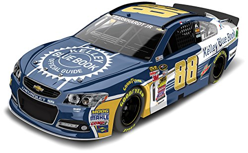 Lionel Racing C885821KEEJ Dale Earnhardt JR #88 Kelley Blue Book 2015 Chevy SS 1:24 Scale ARC HOTO Official NASCAR Diecast Car