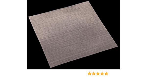 325 Mesh Stainless Steel for Hydrogel Based Molecularly Imprinted Polymers; Size by Inoxia 15cm x 15cm