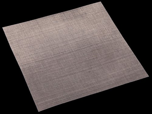 Woven Wire Mesh, 325 mesh (Stainless Steel 316L) – 0.054mm Aperture – By Inoxia Cut Size: 30cm x 30cm by Inoxia
