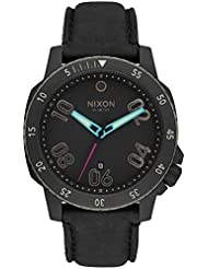 Nixon Unisex Ranger Leather All Black/Multi Watch