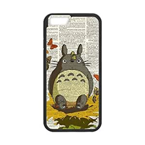 iphone6 4.7 inch case,iphone6 4.7 inch Cell phone case Black My Neighbor Totoro-PUU4878922