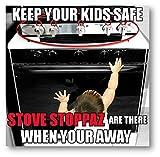 Stove Stoppaz Universal Kitchen Stove Knob Locks