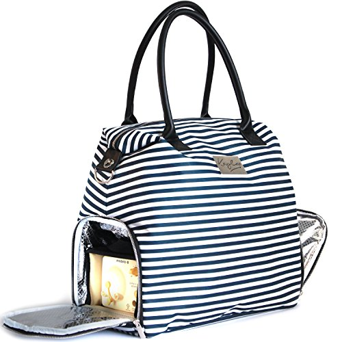 Kaylaa Premium Breast Pump Bag (Luxury Stripe) by Kaylaa (Image #1)