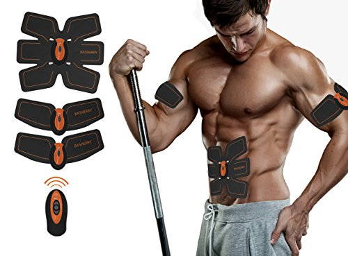 7ab87372f9 Basherry Ab Toner Ab Trainer Abdominal Toning Belts Muscle Training ...