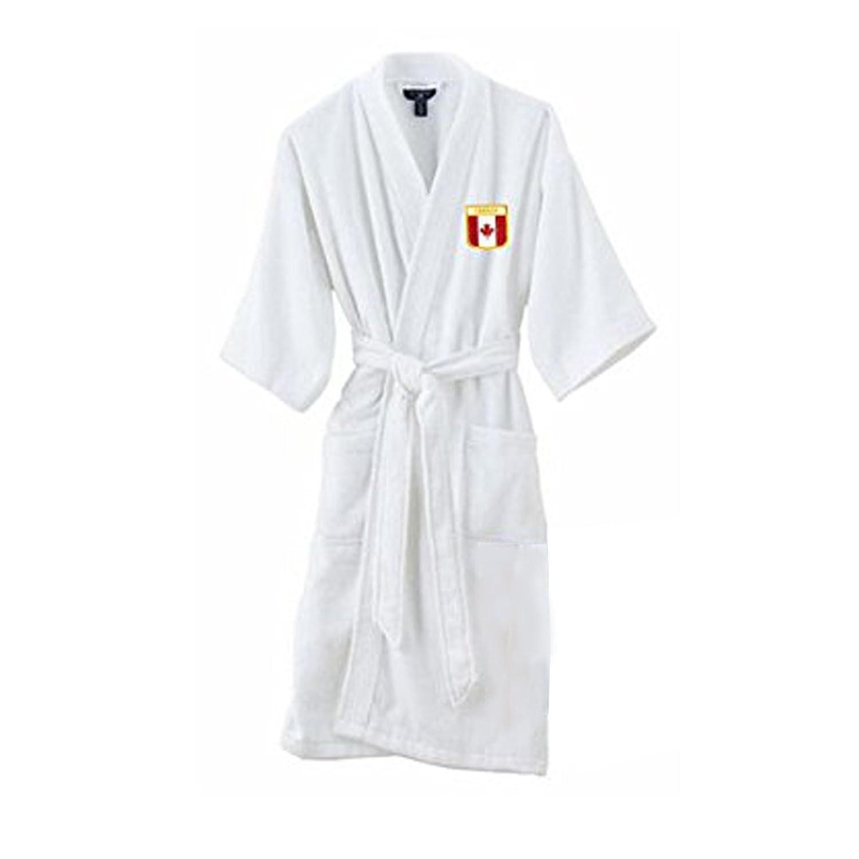 Express Design Group Canada Bathrobe - White hot sale