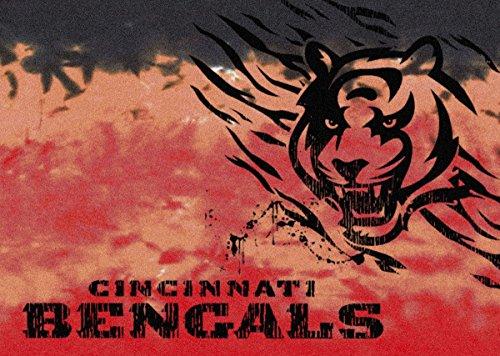Cincinnati Bengals NFL Team Fade Area Rug by Milliken, 3'10