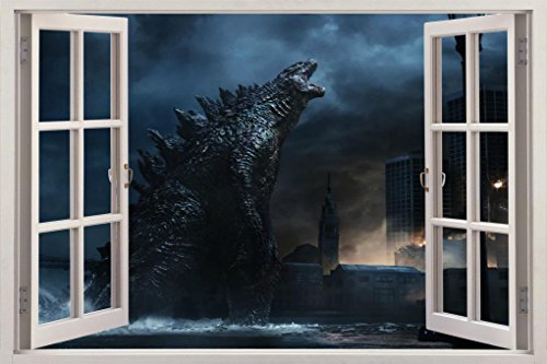 godzilla wall decal - 6