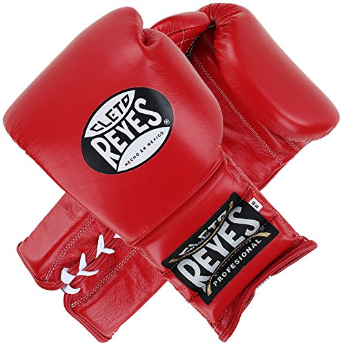 Cleto Reyes Traditional Lace Boxing Gloves Red 12 oz.