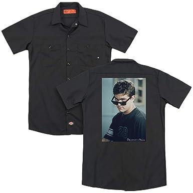 1e808402ec1dac Dawsons Creek - Mens Cool Pacey (Back Print) Work Shirt at Amazon ...