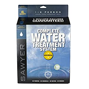 Sawyer Products SP162 Dual Bag 0.1 Micron Water Filtration System, 2-Liters Each