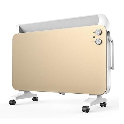 Radiador eléctrico MAHZONG Radiador portátil 2200W con Control de Temperatura y termostato - para Uso en