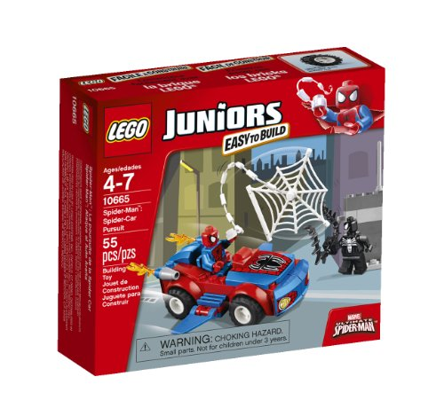 LEGO Juniors 10665 Spider-Man: Spider-Car Pursuit(Discontinued by manufacturer) (Mario Games In The World Wide Web)