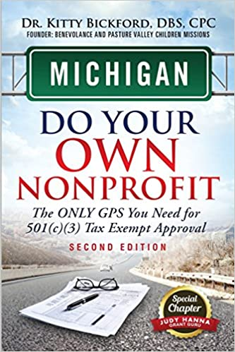 Michigan Do Your Own Nonprofit The Only Gps You Need For 501c3 Tax