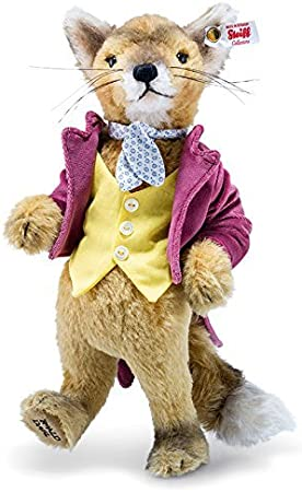 Fantastic Mr Fox Limited Edition By Steiff 29cm Ean 690136 Amazon Co Uk Toys Games