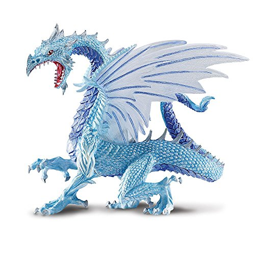 Safari Ltd. Dragons - Arctic Dragon - Phthalate, Lead and BPA Free - For Ages 4+