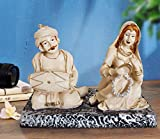 TIED RIBBONS Handmade Indian Rajasthani Sculpture Statue Idol Figurine showpiece for Living Room