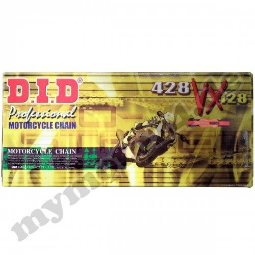 G/&B Clip DID Kettensatz Stahl Suzuki DR125 SM Bj.2011 16-50-130 DID428VX
