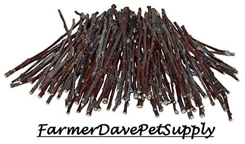 - FarmerDavePetSupply 100 Apple Ultra Skinny Chew Twigs for Small Animals