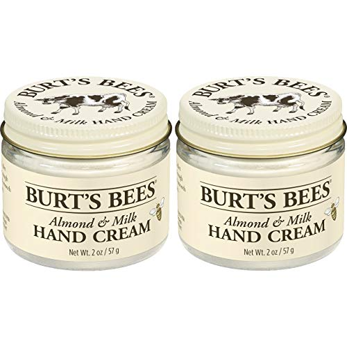 Burt's Bees Almond & Milk Hand Cream - 2 Ounce Jar (Pack of 2)
